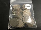 Lot of 27 Buffalo Nickels Majority Full Date