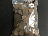 Lot of 340 Wheat Cents