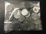 Lot of (89) Steel Pennies