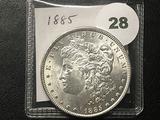 1885 Morgan Dollar, BU