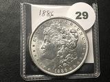 1886 Morgan Dollar, BU