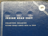 Book of (33) Indian Cents (all different dates)