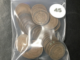 Lot of (50) Full date Indian Cents