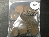 Lot of (42) Full date Indian Cents