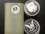 20x$ One Troy Oz. Silver (Morgan) Rounds