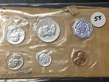 1957 Proof Set, US Mint
