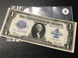 1923 $1 Washington Large Note