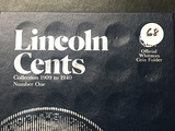 Partial 1909-1940 Lincoln Cent Book, 28 Coins