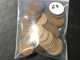 Lot of (50) Majority Teens & 20s Lincoln Cents