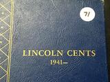 1941-1970's Lincoln Cent Book