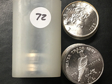 20x$ One Troy oz. Silver (Peace) Rounds