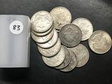 14x$ 1921 Morgan Dollars