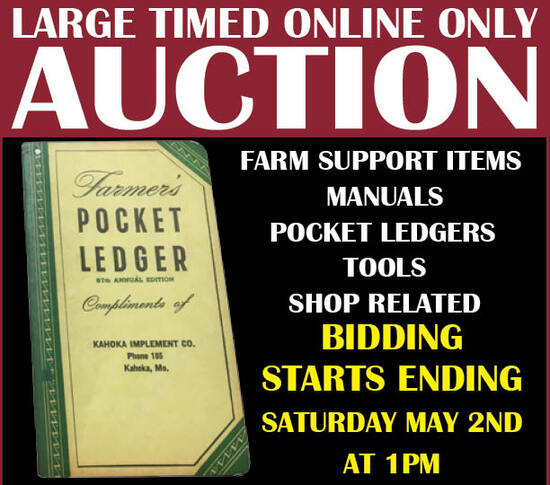 Large Timed Online Only Auction