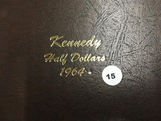 Complete Kennedy Set 1964-2019 in Dansco Album AU55-MS65