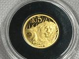 2019 0.5g Fine Gold 1,000 Francs Big Five Proof
