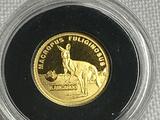 2018 0.5g .999 Gold 2 1/2 Dollar Australia Big Seven Proof