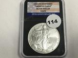 2006-W Burnished American Silver Eagle
