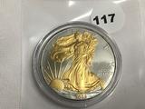 2009 Enhanced American Silver Eagle