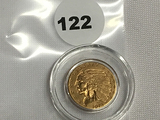 1913 $2 1/2 Indian Head Gold Coin