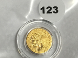 1914 $2 1/2 Indian Head Gold Coin