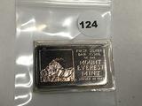 1 oz .999 Silver Bar