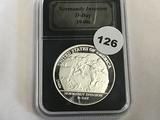 1 oz Silver Round D Day 1940's