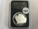 1 oz Silver Round 1910 Moving Assembly Line