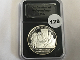 1 oz Silver Round 1770's Declaration of Independence