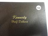 Album of 100 BU Kennedy Half Dollar 1964-2017