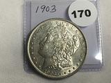 1903 Morgan Dollar Unc