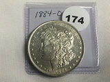 1884-O Morgan Dollar Unc