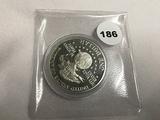 1991 USO 50th Anniversary Coin Unc