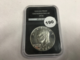 1972-S Silver Ike Dollar Unc