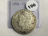 1890 CC Morgan Dollar