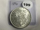 1896 Morgan Dollar Unc