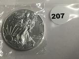 2020 American Silver Eagle GEM
