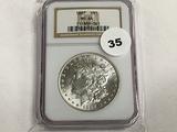 NGC Graded MS 64 1887 Morgan Dollar