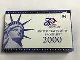 2000 US Proof Set