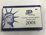 2001 US Proof Set