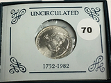 George Washington Silver Comm Half Dollar