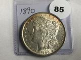 1890 Morgan Dollar (Toning)