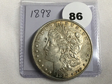 1898 Morgan Dollar