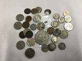 Lot of Misc Coins 1878 Morgan, (10) Silver Dimes and Other Coinage