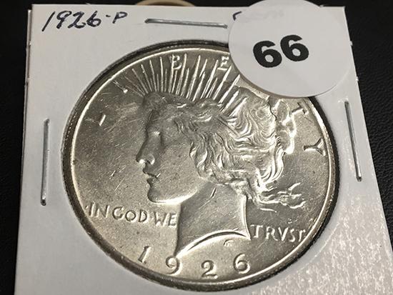 1926 Peace dollar GEM