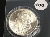1882-S Morgan Silver Dollar Unc