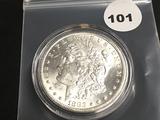 1883CC Morgan Silver Dollar GEM