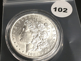 1883-0 Morgan Silver Dollar Unc