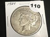 1927 Peace Dollar AU
