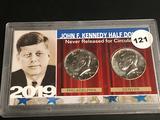 2019 P&D Kennedy half Unc