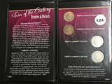 Turn of century coins, Ind head cent & Liberty nickels